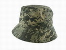 US Army ACU Night Camouflage BUCKET Hat - NACU