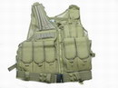 Black Hawk Down Omega HSV Assault Tactical Vest with Holster -CB