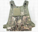 Multicam Camouflage MOLLE SYS Ver.Load LW Vest 501A-CP