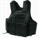 US Force Recon Marine MOD MOLLE Vest - Black