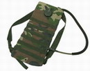 Woodland Camo 2 Way MOLLE 2.5L Hydration Water Backpack -WC