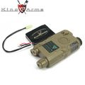 King Arms AN/PEQ-15 Battery Case w/11.1V 1450mAh (DE)