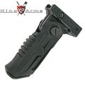 King Arms Folding 5-Position Tactical Grip - BK