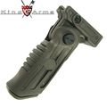 King Arms Folding 5-Position Tactical Grip - OD