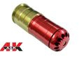A&K Metal 120rds 40mm Gas Grenade Cartridge Shell-Red