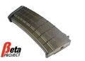 Beta Project 140rd PMAG Magazine for AK Series AEG (Black)