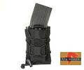 BIG Dragon Nylon TACO Modular Rifle&Pistol Magazine Pouch -BK