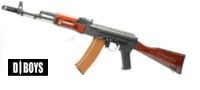 D-BOYS RK-06 AK-74 Full Metal Real Wood AEG (BY006B) Special