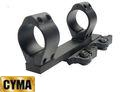 CYMA 30mm Metal QD Double Ring Scope Mount