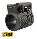 CYMA Tactical Q.D. AK Flashlight Frame Mount-BK