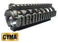 CYMA Full Metal M4 CQB RAS Kit-Black