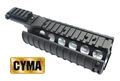 CYMA Full Metal M4 RAS Kit w/RIS Cover-Black