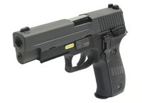 HK3 Steel Metal 226 Rail GBB Pistol with marking (Black)