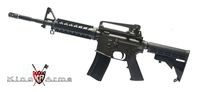 King Arms Colt M4A1 RIS Gas Blowback  GBB