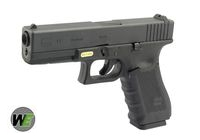 WE G17 Gen4 Rail Steel Silde GBB Pistol (Black)