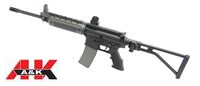 A&K Metal Body LR300 Long Airsoft AEG(Foldable Stock)