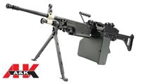 A&K M249 MKI SAW Light Machine Gun AEG