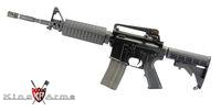 King Arms Colt M4A1 Nylon Fiber Rifle with GHK GBB Kit