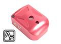 AIP Aluminum Magazine Base For Marui 5.1(Type 1)(Red)