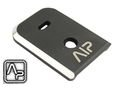 AIP Aluminum Magazine Base For KSC Glock 17(Black & Silver)