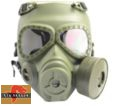 Big Dragon M04 Nuclear War Potective Mask w/ Fan (Olive Drab)