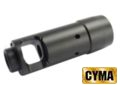 CYMA AK74 Metal Flash Hider 14mm CCW (C.55) For AK AEG