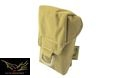 FLYYE iCOMM Pouch For MOLLE System(Coyote Brown)
