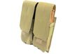 NOB Dual M4/M16 Magazine MOLLE System Pouch(Coyote Brown)