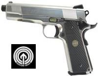 Socom Gear Licensed NOVAK NEXT 1911 Gas Blowback Pistol (Silver)