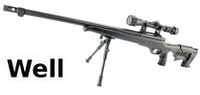 WELL MB11D Sniper Rifle w/ Bipod & Scope(Black)