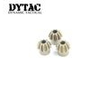 DYTAC Economic Ver Steel Motor Pinion Gear O Shape (3 pcs)