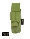 Flyye Nylon Single 9mm Magazine Pouch Ver.FE(Olive Drab)