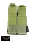 FLYYE Cordura Single deck .45 double Mag Pouch (Olive Drab)