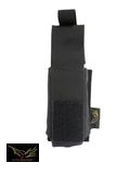 Flyye Nylon Single 9mm Pistol Magazine Pouch Ver.HP(Black)