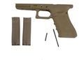 HK3 GLOCK Polymer Frame for TM WE G17 GBB(Dark Earth)-Gen4
