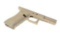 HK3 Polymer Frame For Glock 18C GBB Pistol(Dark Earth)