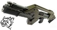 Snow Wolf M41A Pulse Rifle AEG (Alien Gun)(Olive Drab)
