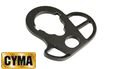 CYMA Aluminum CQB Gun Stock Sling Ring For M4(Black)