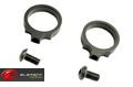 "Element Aluminum LaRue Light Mount Rings(0.830"")(Black)"