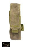 Flyye Cordura Single 9mm Magazine Pouch Ver.FE (A-TACS)