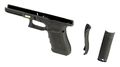 HK3 Polymer Frame For Glock 17 GEN4 w/ 2 Cover(Black)