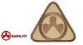 MAGPUL PTS Dynamics Logo Embroidery Velcro Patch(Dark Earth&TAN)