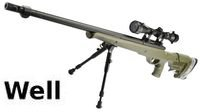 WELL MB12D Sniper Rifle w/ Bipod & Scope(Olive Drab)