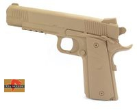 Big Dragon Rubber M.E.U Pistol  Dummy – Coyote Brown