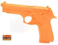 Big Dragon Rubber M92 Pistol  Dummy – Orange