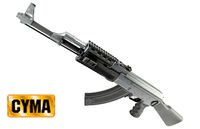 CYMA Railed AK47 Tactical AEG(CM028A)(Black)