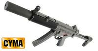 CYMA MP5 SD6 Airsoft AEG (CM041SD6)(Black)
