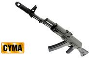 CYMA Metal AK 74M(Folding Stock)(CM047C)(Black)