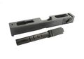 HK3 GLOCK Aluminum Slide Steel Barrel Set for TM/WE G18C(BK)