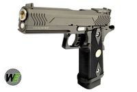 Contrast of WE's seven New AirSoft gun in Tiger111hk WE-GSG-5.1M-BK-1